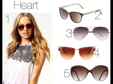 402a7ca09 These Type Of Sunglasses Will Suit You According To Your Face Shape
