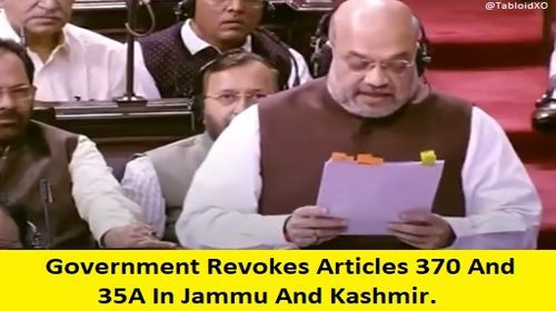 amit shah removie article 35a and 370 from jammu and kashmir