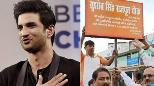 'Sushant Singh Rajput Chowk', His Hometown Pays Tribute By Naming A Road After Him.