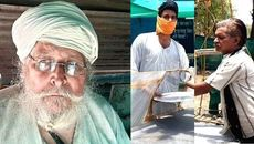 Khaira Babaji, An 81-Year-Old Sikh Offering Langar To Migrants AMid Lockdown. 2 Million Meals Served.