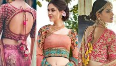 20+ Blouse Back Design | Latest Blouse Designs Images.