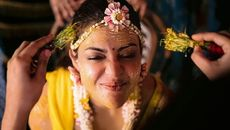 20 Beautiful Photos From Kajal Agarwal Wedding.