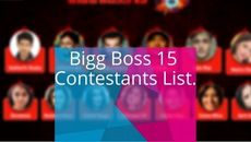 13 Bigg Boss 15 Contestants You May See In This Season.